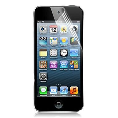 Displayschutzfolie für Apple iTouch 5/6 PET 5 Stücke Vorderer Bildschirmschutz Ultra dünn