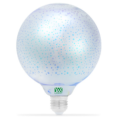 1szt 5W 400-500lm E26 / E27 Żarówki LED kulki 48 Koraliki LED COB Dekoracyjna Pomarańczowy Fiolet Bursztynowy Różowy Fioletowy Zielony