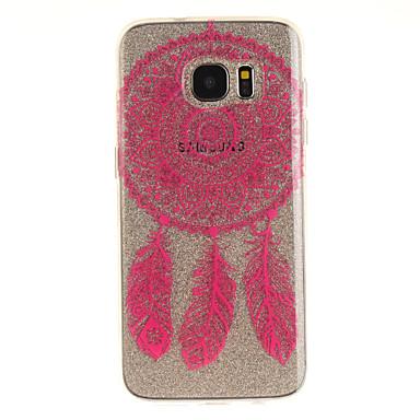Για IMD Διαφανής Με σχέδια tok Πίσω Κάλυμμα tok Ονειροπαγίδα Μαλακή TPU για Samsung S7 edge S7 S3