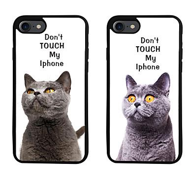 Için Temalı Pouzdro Arka Kılıf Pouzdro Kelime / Cümle Yumuşak TPU için Apple iPhone 7 Plus iPhone 7 iPhone 6s Plus/6 Plus iPhone 6s/6