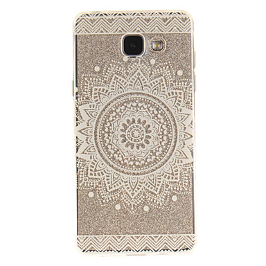 cheap Galaxy A3 Cases / Covers-Case For Samsung Galaxy A5(2016) / A3(2016) / A5 IMD / Transparent / Pattern Back Cover Mandala Soft TPU