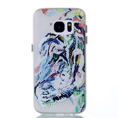 Etui Käyttötarkoitus Samsung Galaxy S8 Plus S8 Hehkuu pimeässä Takakuori Eläin Pehmeä TPU varten S8 S8 Plus S7 edge S7