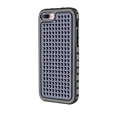 Varten Iskunkestävä Etui Kokonaan peittävä Etui Yksivärinen Kova PC varten Apple iPhone 7 Plus iPhone 7 iPhone 6s Plus/6 Plus iPhone 6s/6