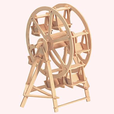 تركيب خشبي بناء مشهور الزراعة الصينية بيت عجلة فيريس المستوى المهني خشبي 1pcs للأطفال صبيان هدية
