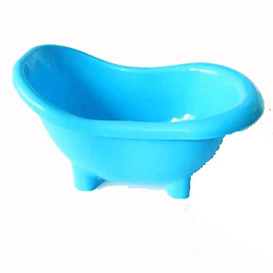 Kemirgenler Kaseler ve Su Şişeleri Plastik Mavi