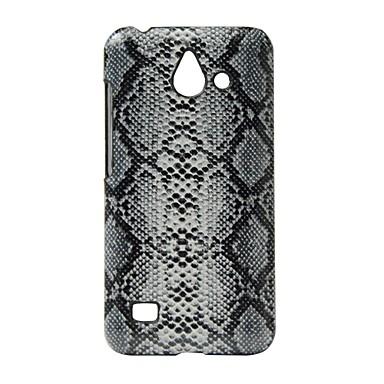 Için Şoka Dayanıklı Pouzdro Arka Kılıf Pouzdro Çizgiler / Dalgalar Sert PU Deri için Huawei Huawei Y550