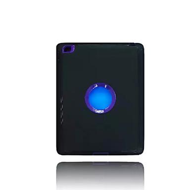 Için Su / Kir / Şok Kanıtı Satandlı Pouzdro Arka Kılıf Pouzdro Solid Renkli Sert PC için Apple iPad 4/3/2