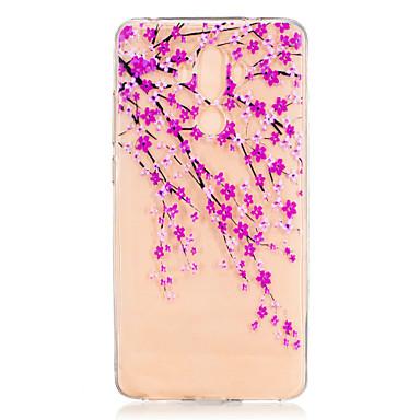 إلى نموذج غطاء غطاء خلفي غطاء زهور ناعم TPU إلى Huawei Huawei Honor 8 Huawei Honor 5C Huawei Mate 9