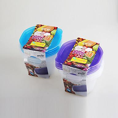 4 Kuchnia Plastik Pudełka śniadaniowe