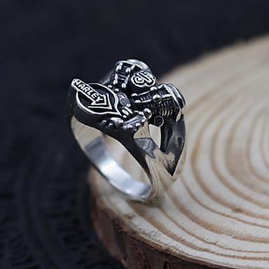 للرجال نساء خاتم مجوهرات مخصص فضة الاسترليني مجوهرات من أجل يوميا فضفاض