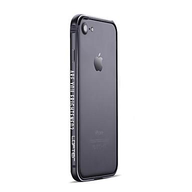 voordelige iPhone-hoesjes-hoesje Voor iPhone 7 / iPhone 7 Plus / Apple Mat Bumper Cartoon / Punk Hard Aluminium