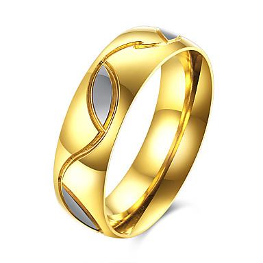 Ανδρικά Δαχτυλίδι κοστούμι κοστουμιών Ανοξείδωτο Ατσάλι Τιτάνιο Ατσάλι Κοσμήματα Για Πάρτι Καθημερινά Causal