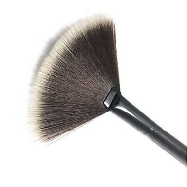 1pcs Makyaj fırçaları Profesyonel Allık Fırçası / Fan Fırçası / Pudra Fırçası Naylon Fırça Portatif / Seyahat / Çevre-dostu Plastik Büyük