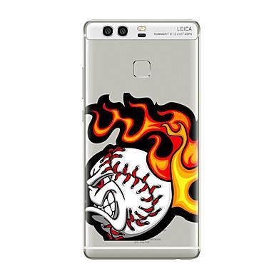 Varten Kuvio Etui Takakuori Etui Piirros Pehmeä TPU varten HuaweiHuawei P9 Huawei P9 Lite Huawei P9 Plus Huawei P8 Huawei P8 Lite Huawei