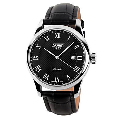Bărbați Ceas de Mână Ceas Elegant Ceas La Modă Ceas Sport Quartz Piele Autentică Bandă Charm Casual Multicolor