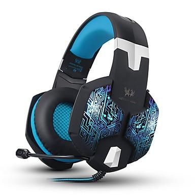 KOTION EACH G1000 Kuulokkeet (panta)ForTietokoneWithMikrofonilla Äänenvoimakkuuden säätö Gaming Kohinanpoisto