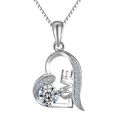 Damskie Breloczki Srebro standardowe Spersonalizowane Podstawowy minimalistyczny styl Biżuteria Na Codzienny Casual