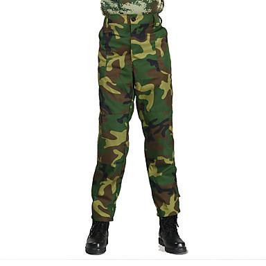 Kamuflaj Avcı Pantolonları Erkek Kadın's Unisex Giyilebilir Hafif Malzemeler kamuflaj Alt Giyimler için Avlanma