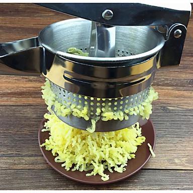 ادوات المطبخ الفولاذ المقاوم للصدأ المطبخ الإبداعية أداة عصارة يدوية لأواني الطبخ 1PC