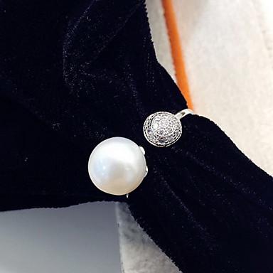 Δαχτυλίδι Μαργαριτάρι Μοντέρνα Λευκό Κοσμήματα Καθημερινά Causal 1pc