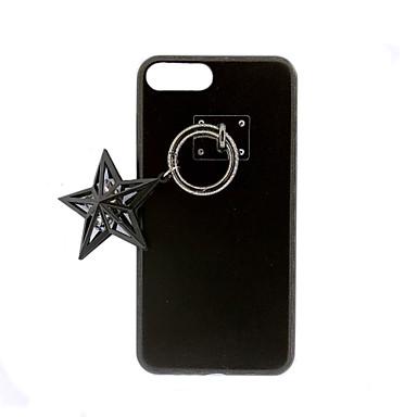 Etui Käyttötarkoitus iPhone 7 Plus iPhone 7 Apple iPhone 7 Plus iPhone 7 DIY Takakuori Yhtenäinen väri Kova PU-nahka varten iPhone 7 Plus