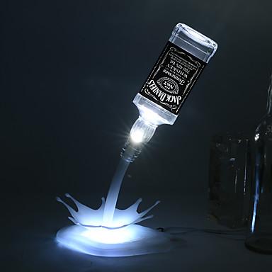 Nowością DIY led lampa stołowa domu romantyczna wlać bateria wielokrotnego ładowania USB Lampka nocna LED USB lampka nocna lampka pusta