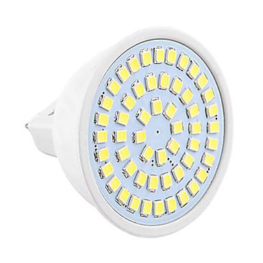 1pc 4W 450-500 lm GU5.3(MR16) LED Spot Işıkları MR16 54 led SMD 2835 Dekorotif Sıcak Beyaz Serin Beyaz 6500