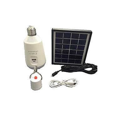 7W multifuncțional de energie solară tub condus panou solar lumina de urgență în aer liber portabil reîncărcabilă lampă lanternă interfață