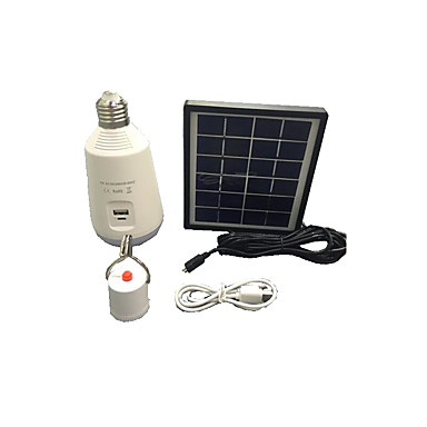 7W πολυλειτουργική ηλιακή ενέργεια οδήγησε σωλήνα ηλιακών πάνελ υπαίθρια φορητό φως έκτακτης ανάγκης επαναφορτιζόμενη λάμπα φακό
