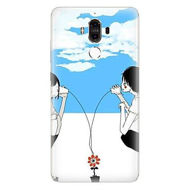 إلى نموذج غطاء غطاء خلفي غطاء قلب ناعم TPU إلى Huawei Huawei Mate 9 Huawei Mate 8