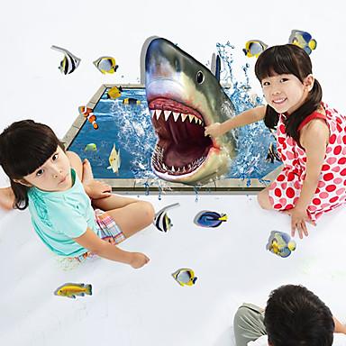Ζώα Μόδα 3D Αυτοκολλητα ΤΟΙΧΟΥ Αεροπλάνα Αυτοκόλλητα Τοίχου 3D Αυτοκόλλητα Τοίχου Διακοσμητικά αυτοκόλλητα τοίχου,Χαρτί ΥλικόΑρχική