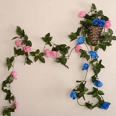1 Gałąź Plastikowy Rattan Others Kwiaty na ścianę Sztuczne Kwiaty