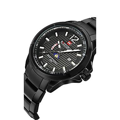 Męskie Sportowy Do sukni/garnituru Modny Zegarek na nadgarstek zegarek mechaniczny Kwarcowy Stop Pasmo Z Wisorkami Na co dzień