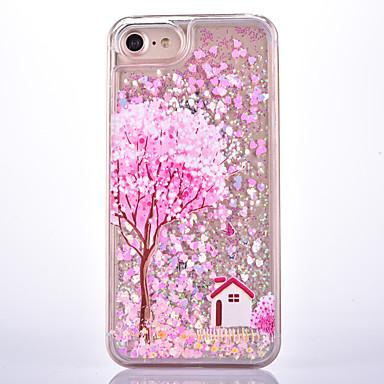 Για Ρέον υγρό Με σχέδια tok Πίσω Κάλυμμα tok Δέντρο Σκληρή PC για Apple iPhone 7 Plus iPhone 7