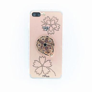 Varten Pölynkestävä Etui Takakuori Etui Kukka Kova PC varten Apple iPhone 7 Plus
