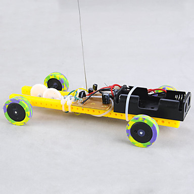 rák királyság Freescale versenyautó távirányító autó frissítési változata a széles kerék / keskeny kerek változata diy szerelési anyagok