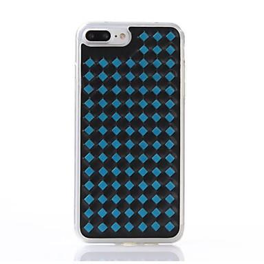 Για Ανθεκτική σε πτώσεις tok Πίσω Κάλυμμα tok Γεωμετρικά σχήματα Μαλακή TPU για AppleiPhone 7 Plus iPhone 7 iPhone 6s Plus/6 Plus iPhone