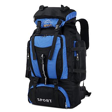 CHENGXINTU 55L حقائب ظهر / حقيبة ظهر / حقيبة الظهر - مقاوم للماء, مكتشف الأمطار, مكتشف الرطوبة التخييم والتنزه, التزلج, التسلق نايلون