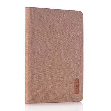 Για με βάση στήριξης tok Πλήρης κάλυψη tok Μονόχρωμη Σκληρή Συνθετικό δέρμα για Apple iPad Mini 4 iPad Mini 3/2/1