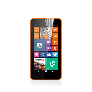 protetor de tela LCD HD de alta transparência para Nokia 635 (3 peças)