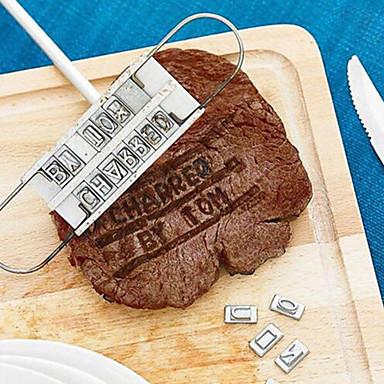 DIY Mold For για κρέας Ξύλο Ανοξείδωτο ατσάλι Πολυλειτουργία Δημιουργική Κουζίνα Gadget Φιλικό στο Περιβάλλον Υψηλή ποιότητα