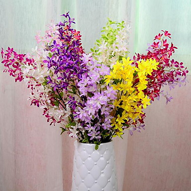 1 Gałąź Plastikowy Others Bukiety na stół Sztuczne Kwiaty