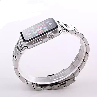 Watch Band na Apple Watch Series 3 / 2 / 1 Apple Butterfly Buckle Stal nierdzewna Opaska na nadgarstek