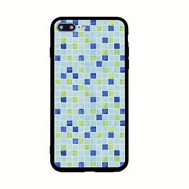 Için Temalı Pouzdro Arka Kılıf Pouzdro Geometrik Desenli Sert Akrilik için AppleiPhone 7 Plus iPhone 7 iPhone 6s Plus iPhone 6 Plus