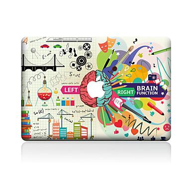 1 parça Deri Etiket için Çizilmeye Dayanıklı Karton Tema PVC MacBook Pro 15'' with Retina MacBook Pro 15'' MacBook Pro 13'' with Retina