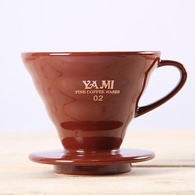 ml Seramik Kahve Filtresi , 1 fincan filtre kahve Maker Yeniden kullanılabilir Manual