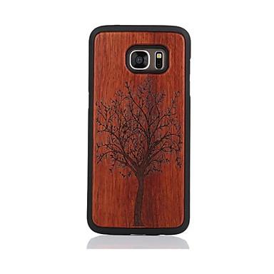 tok Για Samsung Galaxy S7 edge S7 Με σχέδια Πίσω Κάλυμμα Δέντρο Σκληρή Ξύλο για S7 edge S7