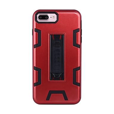 Için Şoka Dayanıklı Satandlı Pouzdro Arka Kılıf Pouzdro Zırh Sert PC için Apple iPhone 7 Plus iPhone 7 iPhone 6s Plus/6 Plus iPhone 6s/6