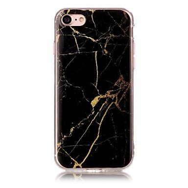 Etui Käyttötarkoitus Apple iPhone X iPhone 8 IMD Kuvio Takakuori Marble Pehmeä TPU varten iPhone X iPhone 8 Plus iPhone 8 iPhone 7 Plus