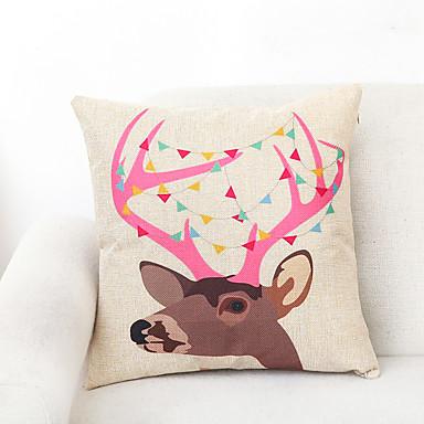 1 szt Poliester Pokrywa Pillow,Wildlife Akcent / Decorative